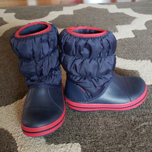 25df074e36210 CROCS Other - Crocs kids winter puff boot size 9c